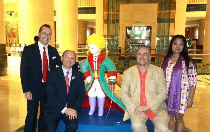 Le Petit Prince Collection d'Art à l'Hôtel Fullerton de Singapour