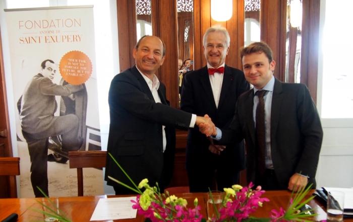 Un nouveau partenariat en faveur des jeunes en Thaïlande