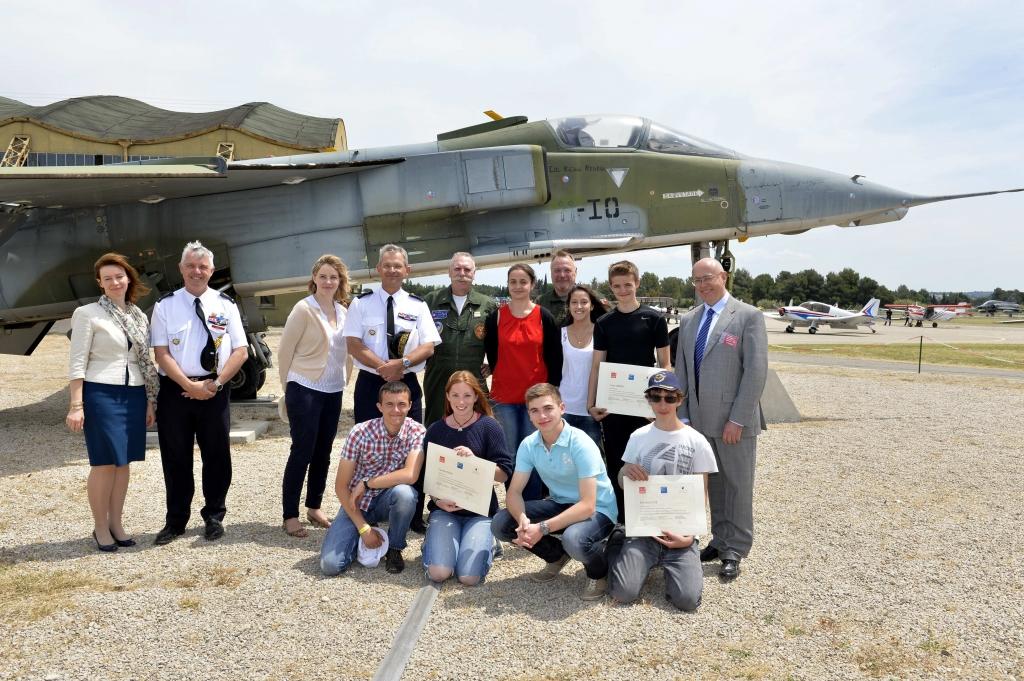 National education french air force day - Bernard philibert salon de provence ...