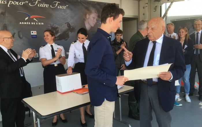L'armée de l'air proclame les prix « Saint-Exupéry pour la jeunesse »