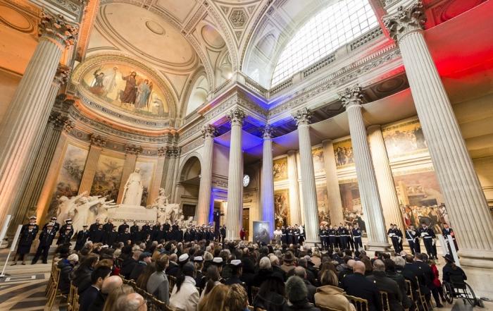 Hommage national à Antoine de Saint Exupéry au Panthéon