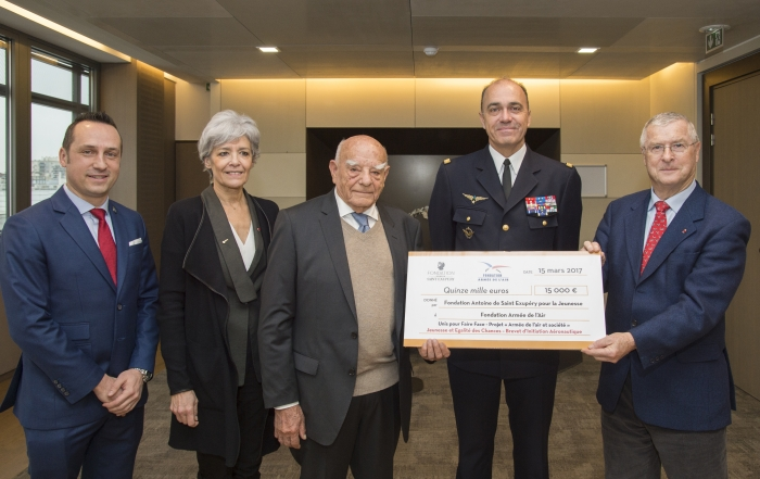 Partnership with the French Air Force for the Benefit of Youth