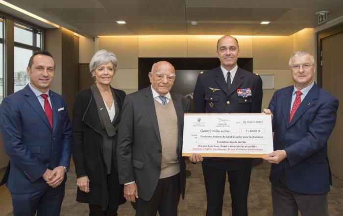 Partenariat avec l'Armée de l'Air au bénéfice de la jeunesse