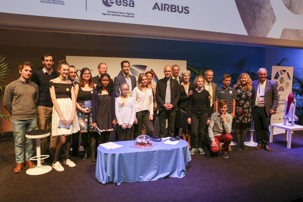 30ème Congrès mondial des astronautes - Conférence de Presse du 16/10/17 30ème Congrès mondial des astronautes - Conférence de Presse du 16/10/17