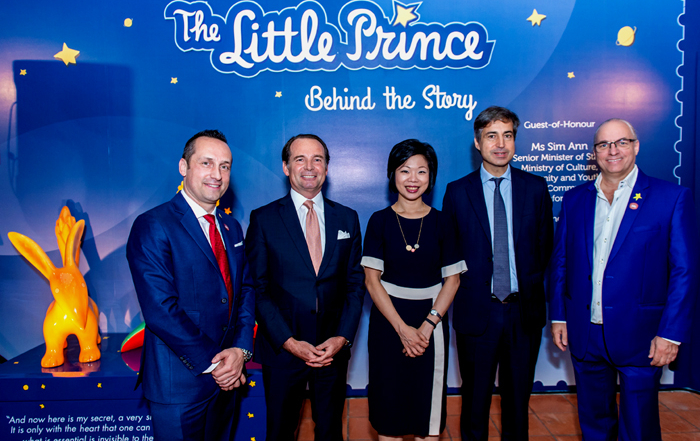 Singapore celebrates the 75th anniversary of the Little Prince (1943-2018)