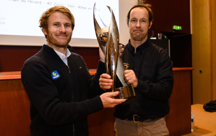 Presentation of the first-ever Antoine de Saint Exupéry Trophy