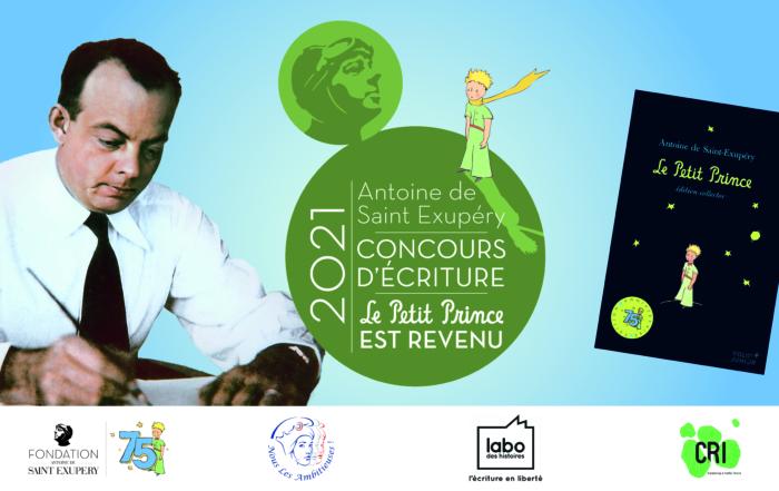 """Concours d'écriture 2021 """"Le Petit Prince est revenu !"""""""